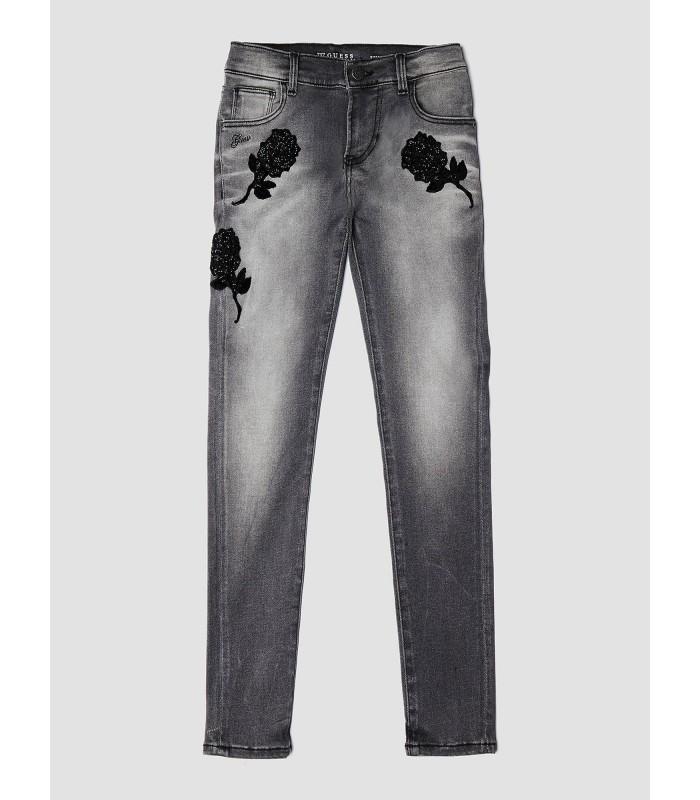 e4c8a153cb2 Pantalones vaqueros grises para niña de Guess - Adriels Moda Infantil