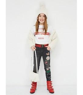 Pantalones mariposas para niña de Guess