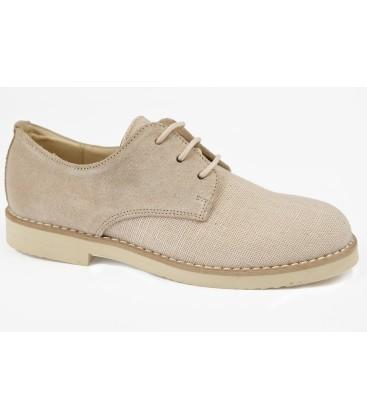 Zapatos afelpado piedra para niño