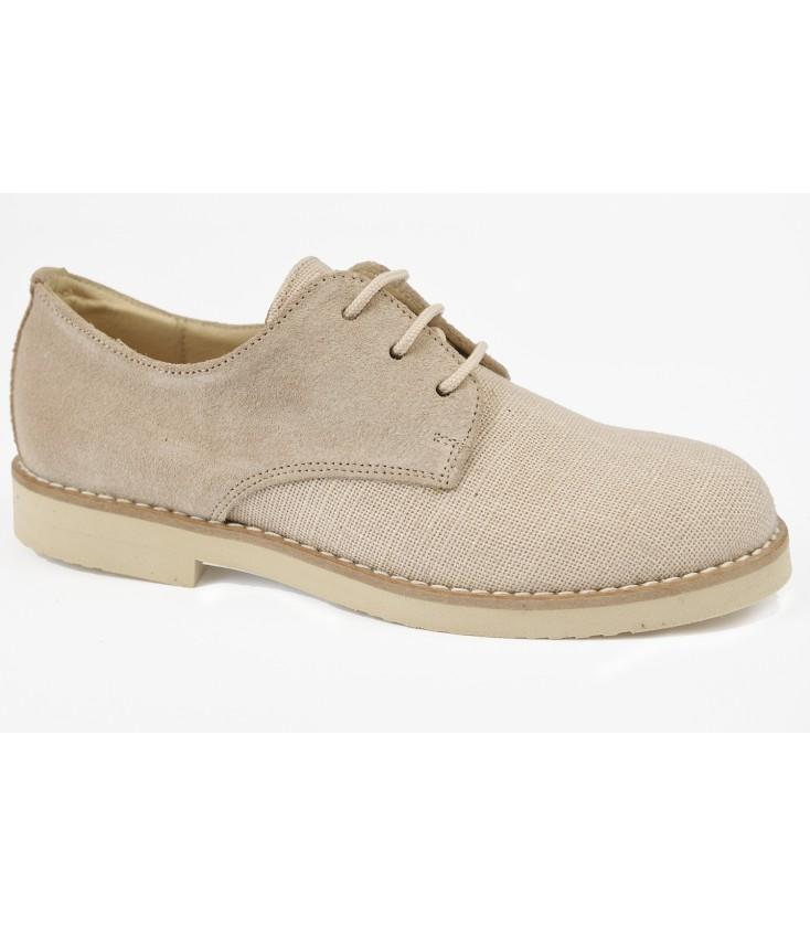 dac86651e Zapato afelpado beige para niño - Adriels Moda Infantil