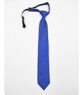 Corbata lisa para niño en color azulón de Spagnolo