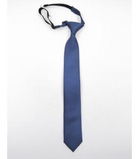 Corbata lisa para niño en azul marino de Spagnolo