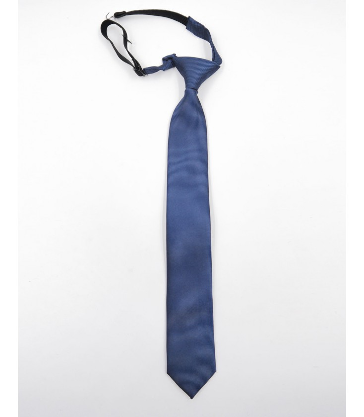 ef8a74649 Corbata lisa para niño en azul marino de Spagnolo - Adriels Moda ...