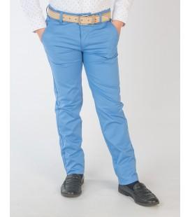 Pantalón chino azul para niño de Spagnolo