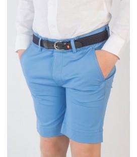 Bermuda básica para niño de Spagnolo - Azul