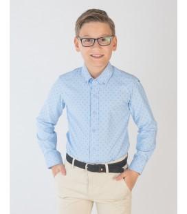 Camisa azul para niño de Spagnolo
