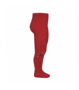 Leotardo algodón con lazo lateral de Cóndor - Rojo