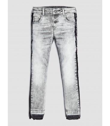 Pantalones vaqueros grises para niña de Guess
