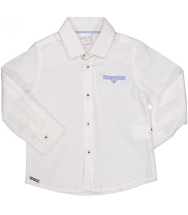 Camisa blanca para bebé de Birba