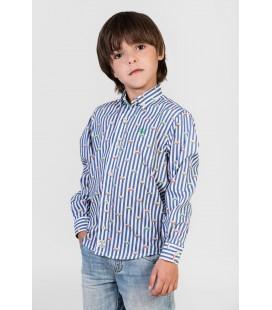 Camisa rayas para niño de Polo Hills