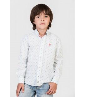 Camisa estampada para niño de Polo Hills