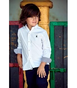 Camisa blanca para niño de La Jaca