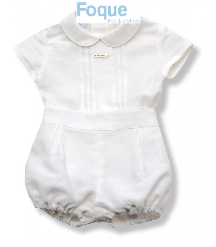 badf63af3 Conjunto de ceremonia para bebé de Foque - Adriels Moda Infantil