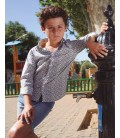Camisa estampada para niño de El Flamenco