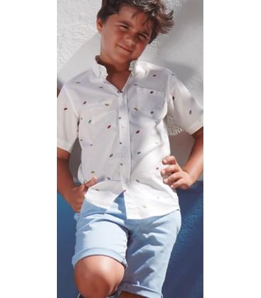 Camisa camaleones para niño de El Flamenco