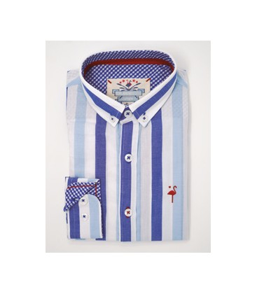 Camisa rayas para niño de El Flamenco