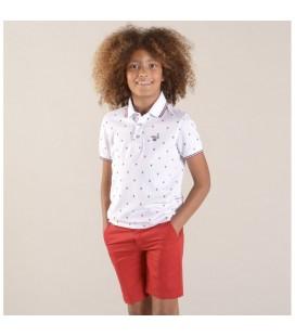 Bermudas rojas para niño de Lion Of Porches