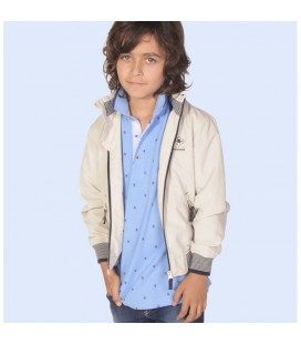 Chaqueta beige para niño de Lion Of Porches