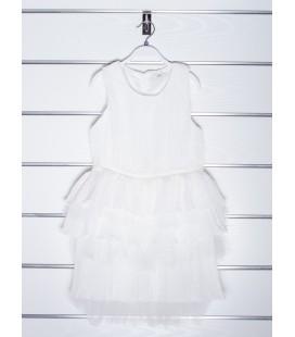Vestido blanco para niña de Y-Clu