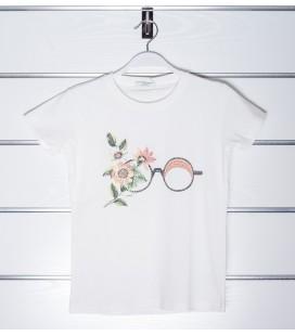 Camiseta gafas para niña de Y-Clu