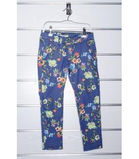 Pantalones flores para niña de Y-Clu