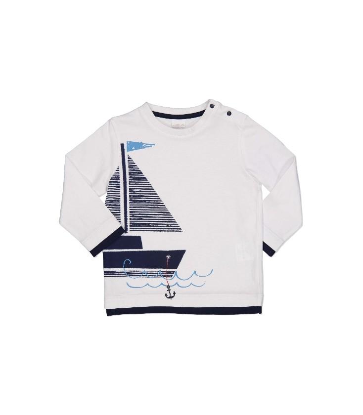 f725ddc76 Camiseta blanca para bebé de Birba - Adriels Moda Infantil