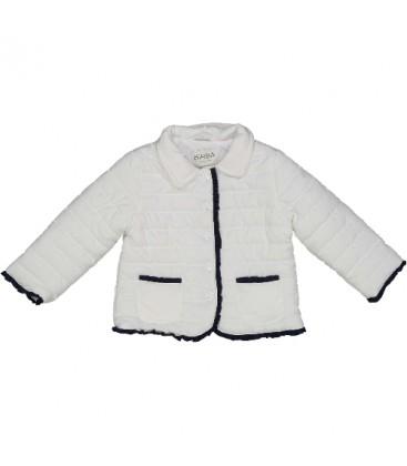Abrigo blanco para bebé de Birba