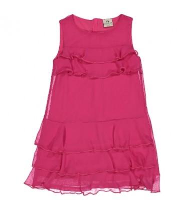 Vestido fucsia para niña de Trybeyond