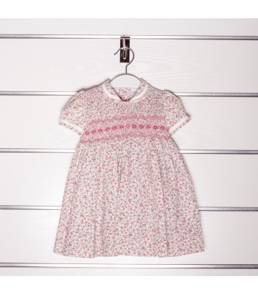Vestido estampado para bebé de Artesanías Filita