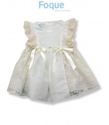 Vestido ceremonia para bebé de Foque
