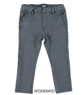 Pantalón rayas azul marino para niño de iDo by Miniconf