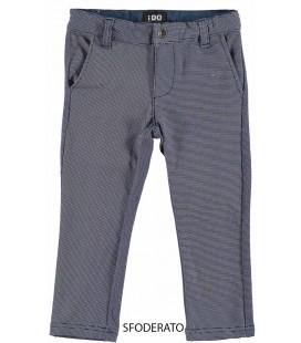 Pantalón beige y marino para niño de iDo by Miniconf