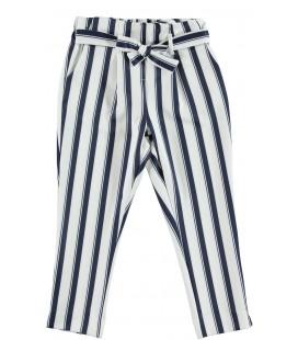 Pantalones rayas para niña de iDo by Miniconf