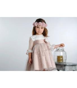 Vestido de arras para niña de Mamen