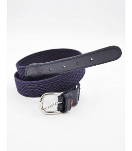 Cinturón sarga elastica para niño de Spagnolo - Marino