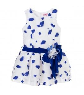 Vestido estampado petalos para niña de Kiriki Moda Infantil