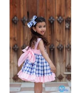 Vestido a cuadros para niña de DBB Collection