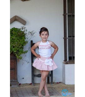 Conjunto blusa y falda para niña de DBB Collection