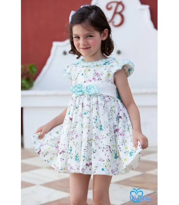 Vestido flores para niña de DBB Collection