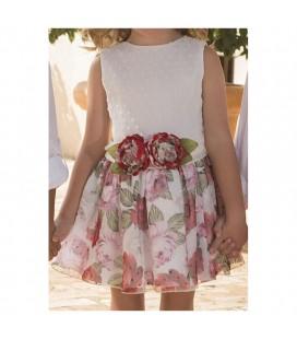 Vestido plumeti para niña de Atelier de Candela