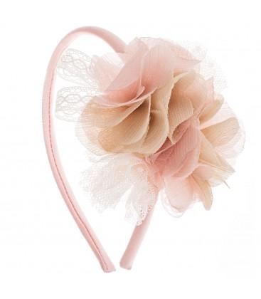 Diadema rosa para niña de Kiriki Moda Infantil