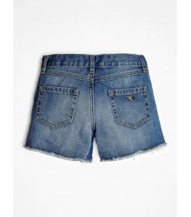 Shorts vaqueros con lentejuelas de Guess