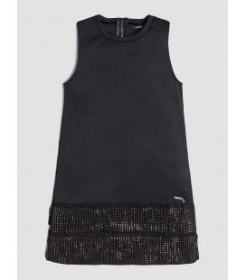 Vestido negro para niña de Guess