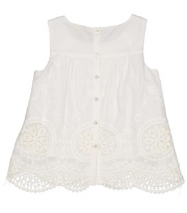 Blusa beige para niña de Trybeyond