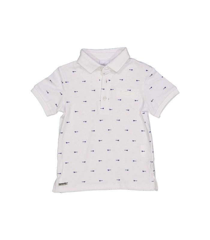 53511dbaf Polo blanco para bebé niño de Birba - Adriels Moda Infantil