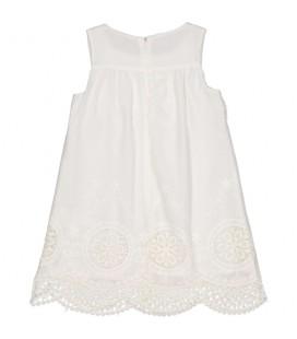 Vestido beige para niña de Trybeyond