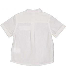 Camisa beige para bebé niño de Birba