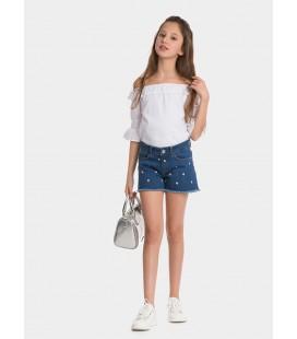 Shorts Chloe_92 para niña de Tiffosi