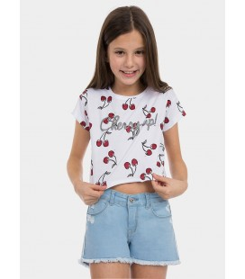 Camiseta Mint para niña de Tiffosi