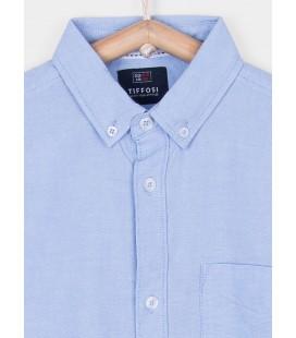 Camisa Helder azul para niño de Tiffosi